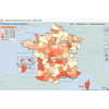 Carte de France des accidents 2001-2006