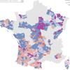 Élections départementales 2015 en svg et en live - 1er tour