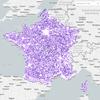 Carte interactive des antennes radioélectriques