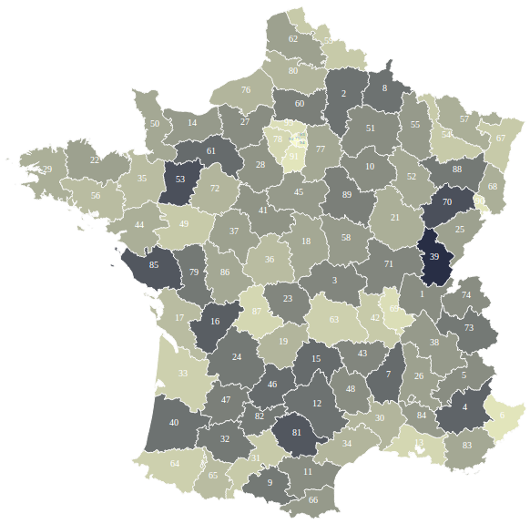 Visualisation Interactive de la Gravité des Accidents en France