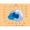Volume de déchets non-recyclables par habitant, par arrondissement