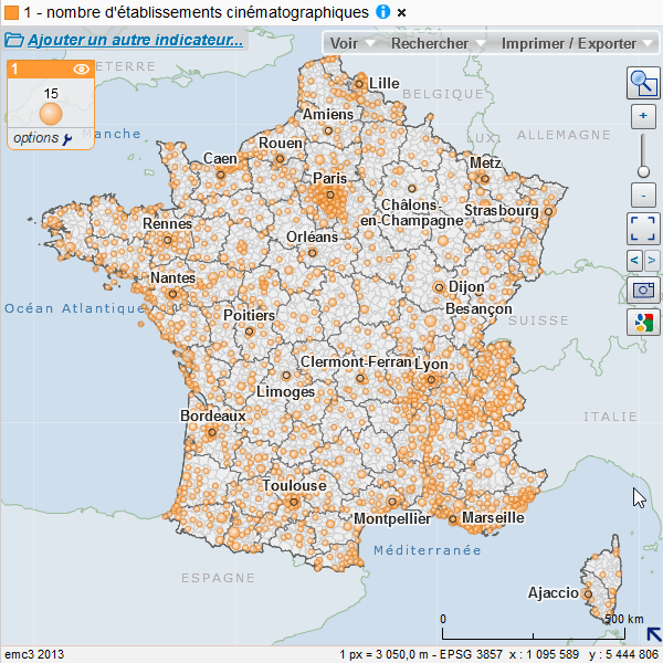 Fond de carte des codes postaux   Data.gouv.fr