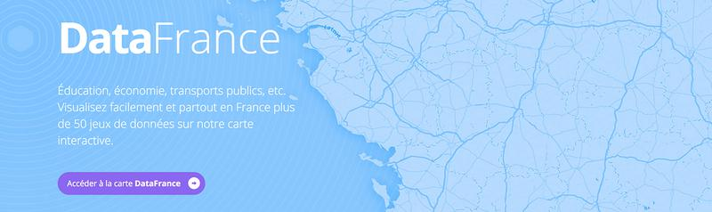 DataFrance, plateforme de visualisation open data