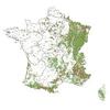 Les forêts (et parcelles publiques) gérées par l'ONF